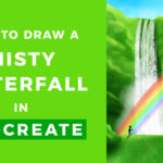 How to Draw a Waterfall // Procreate Tutorial