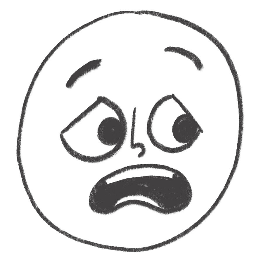 It is an image of Eloquent How To Make A Scared Face Drawing