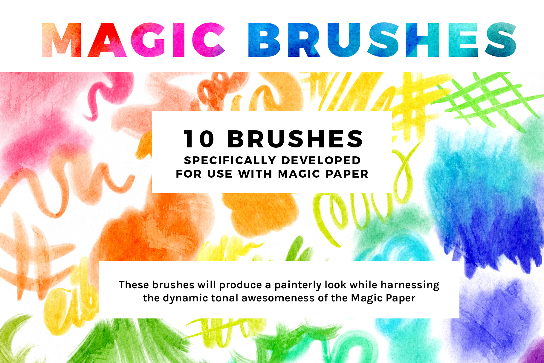 Bardot Brush Magic Paper 24