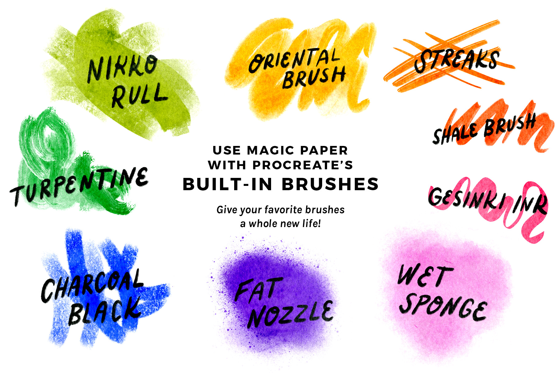 Bardot Brush Magic Paper 30