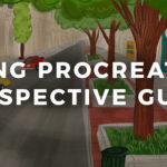 Using Procreate's Perspective Guide to Draw an Urban Street Scene
