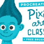 How to Make Pixel Art in Procreate