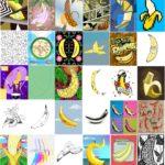 Bananas in 30 Art Styles