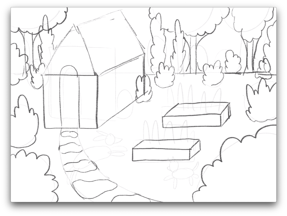 how-to-draw-a-garden-scene-sketch-3