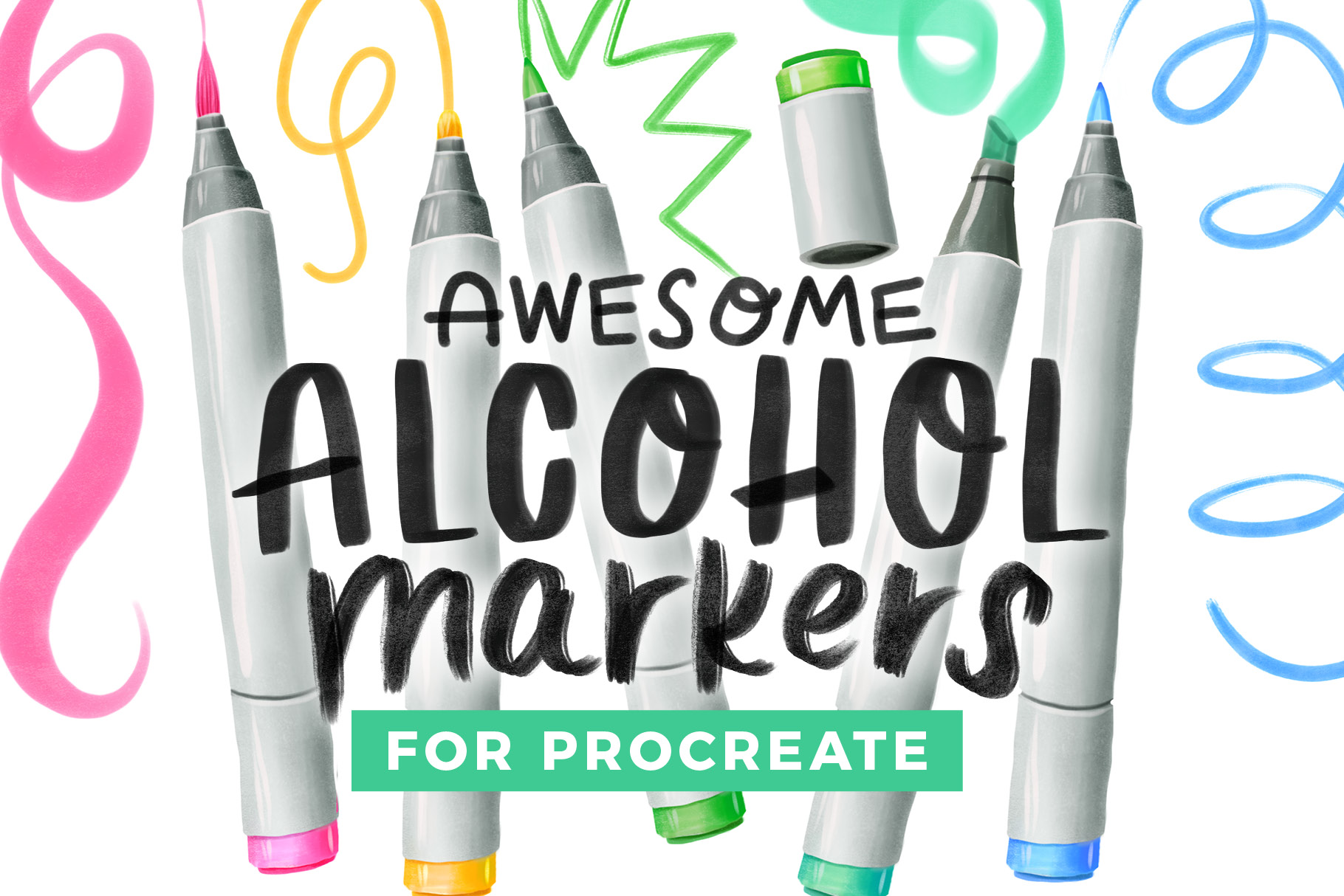 Awesome Alcohol Markers
