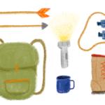Week 23 // Camping // Making Art Everyday – Year Three