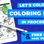 How to Color in Procreate - Coloring Pages in Procreate