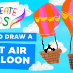 How to Draw a Hot Air Balloon: Procreate for Kids!