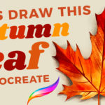 How to Draw an Autumn Leaf in Procreate