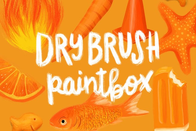 Dry Brush Paintbox