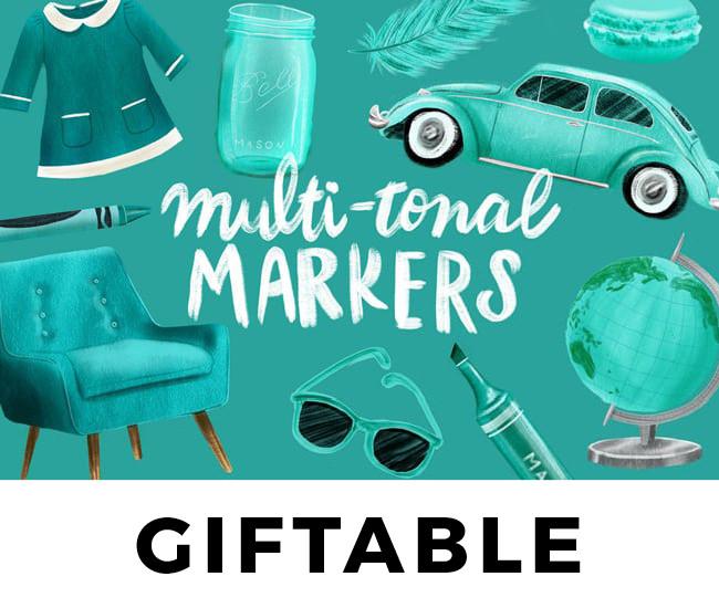 Multi-Tonal Markers // GIFT
