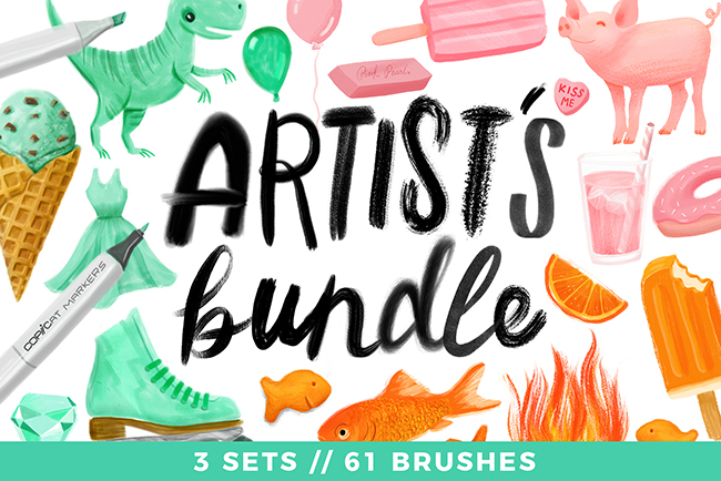 Artist's Bundle // 3 Sets