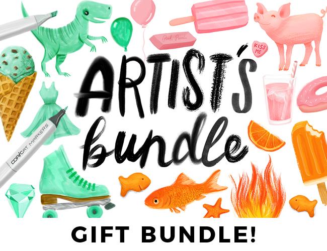 Artist's Bundle // GIFT