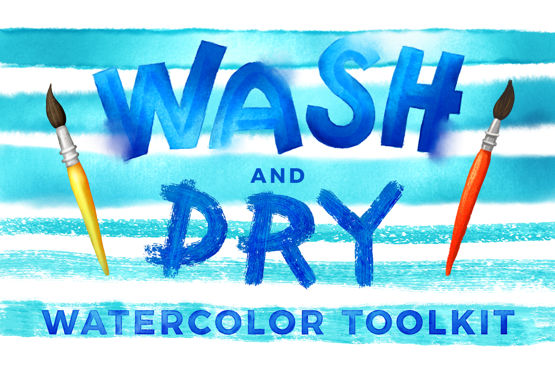 Wash & Dry Watercolor Toolkit
