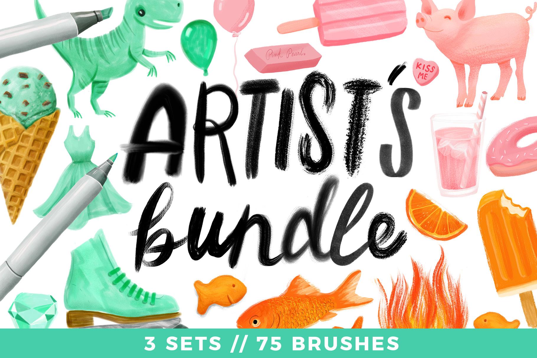 Artist's Bundle // 3 Sets