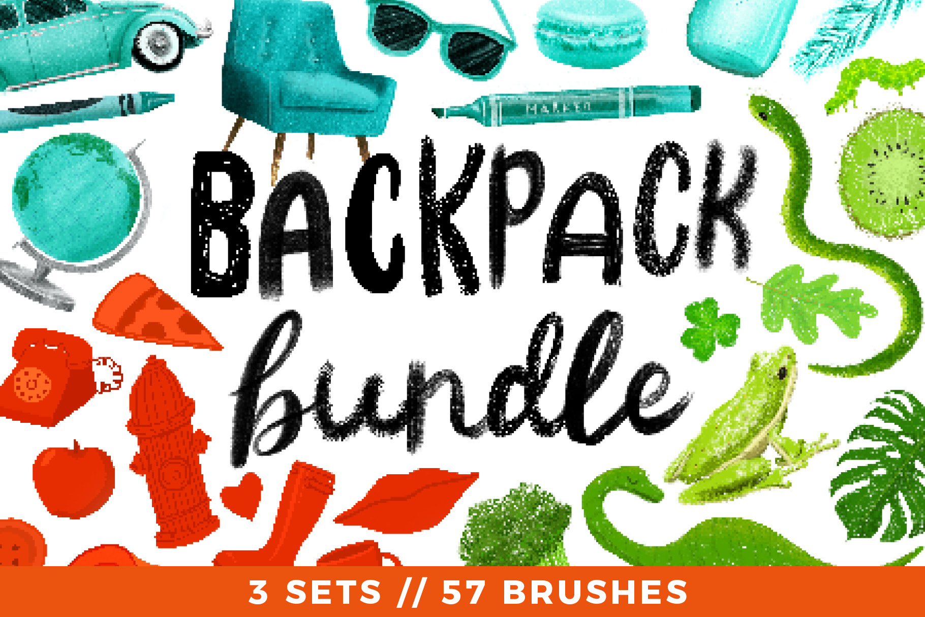 Backpack Bundle // 3 Sets