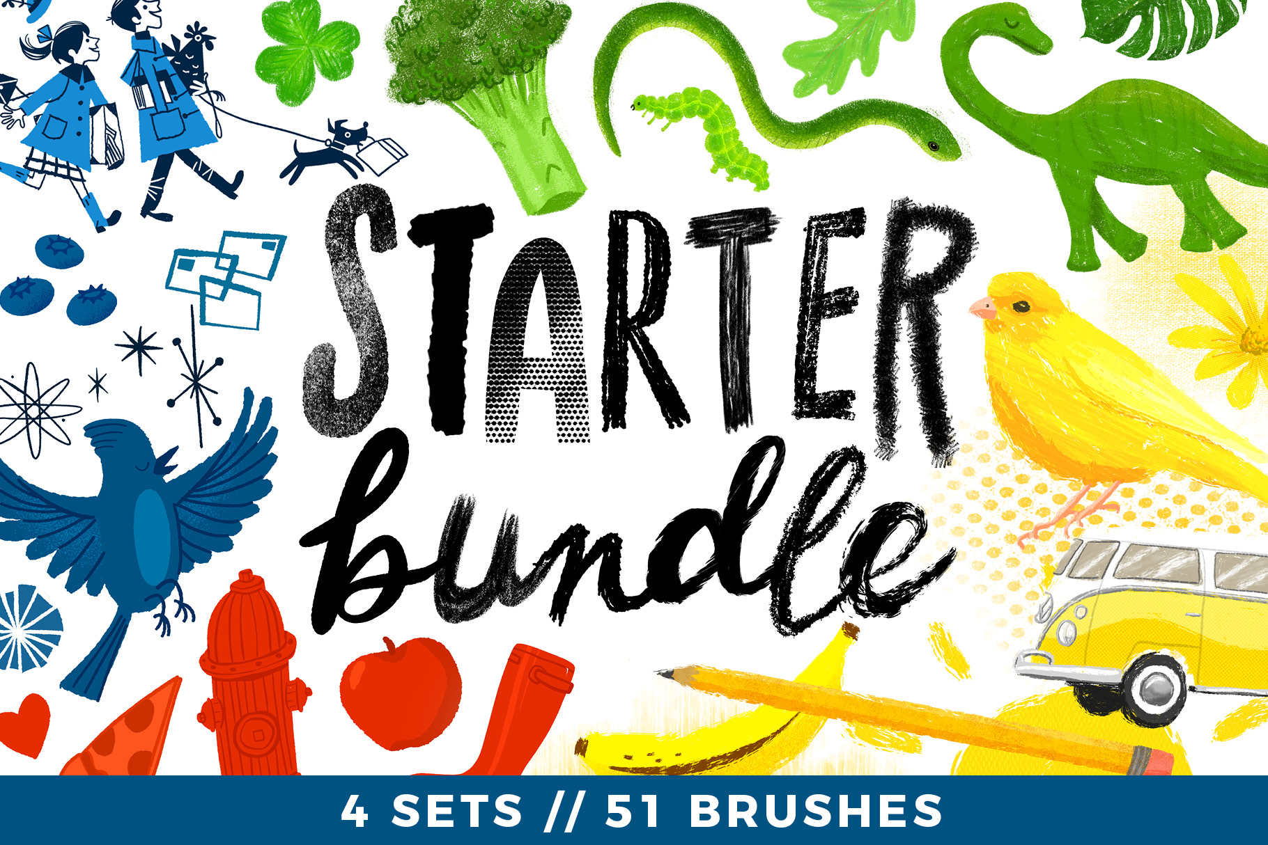 Starter Bundle // 4 Sets