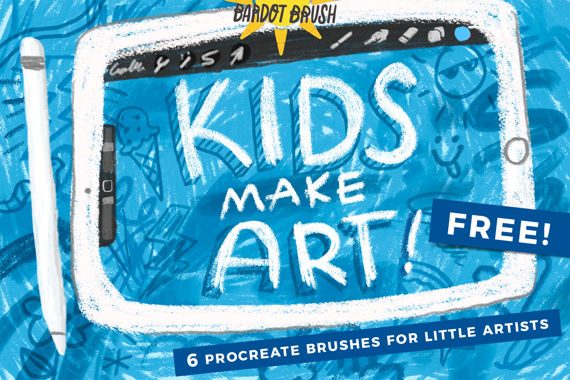 FREE Procreate Brushes for Kids