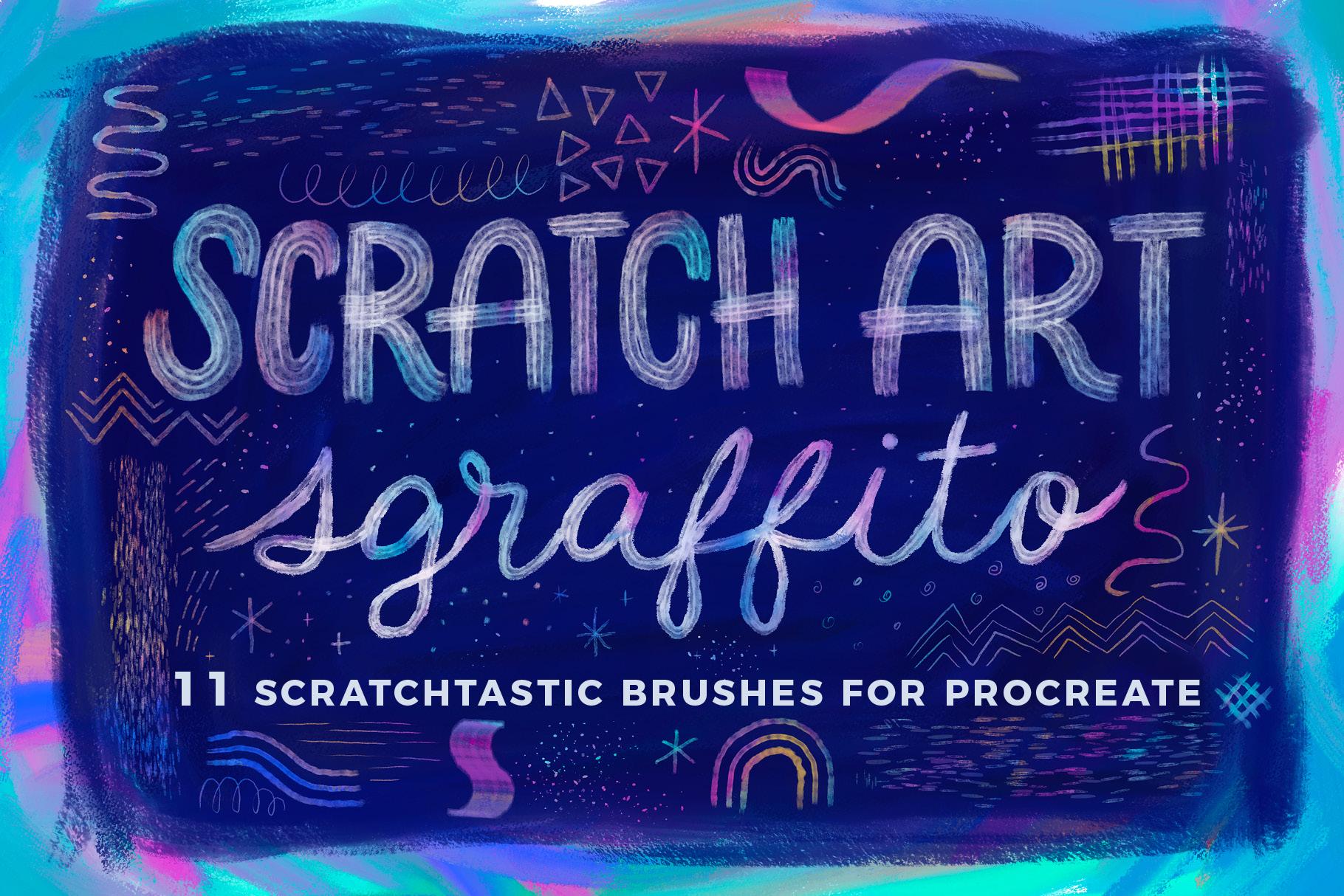 Scratch Art Sgraffito